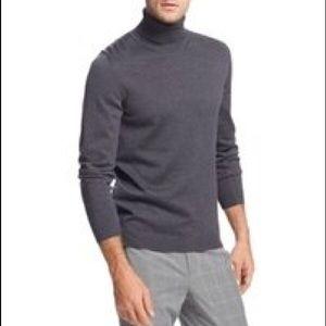 Hugo Boss Slim Fit Virgin Wool Roll Neck Sweater